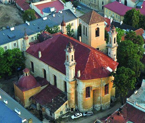 Церква та монастир УГКЦ у Вільнюсі увійшли до туристичного збірника Топ-100 країн Балтії