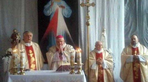 Римо-католики звершили першу месу після повернення храму в Севастополі
