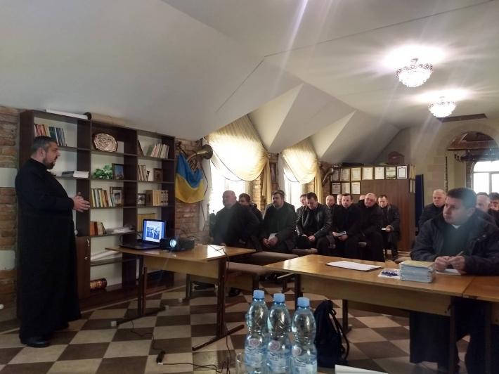 40 священиків УГКЦ пройшли навчання з служіння сім'ям військових та демобілізованих учасників АТО/ООС