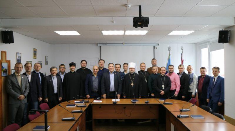 Движение Реформации организовало в Черкасском горсовете первый молитвенный завтрак