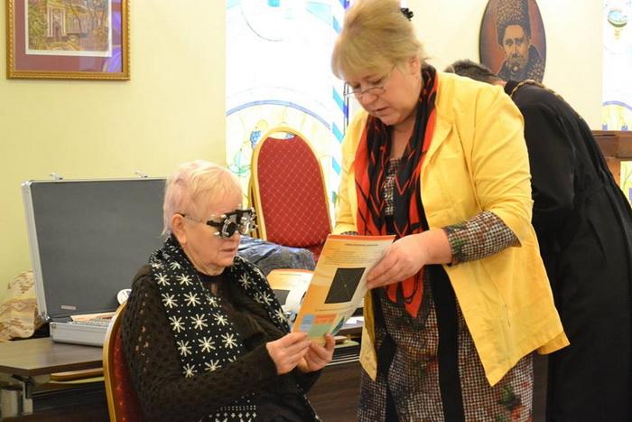 УПЦ КП долучилась до всеукраїнської акції допомоги людям зі слабким зором