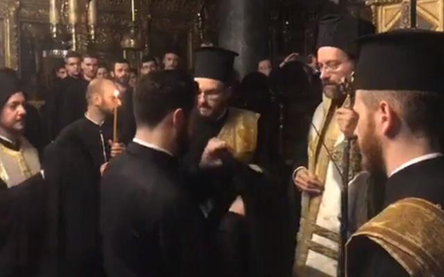 Вперше українець став патріаршим дияконом Вселенського патріарха в Константинополі