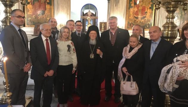 Патриарх Варфоломей возглавил богослужение в память о жертвах Голодомора