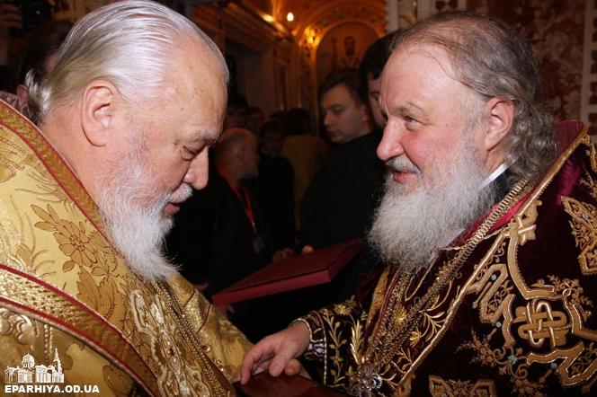 Одесский митрополит УПЦ просит патриарха Кирилла помочь освободить украинских моряков