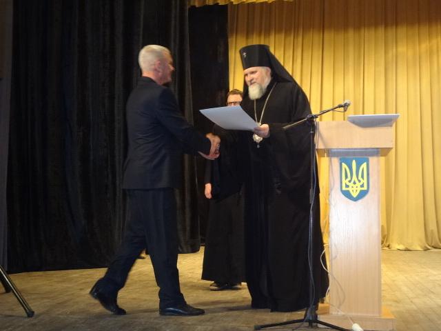 Архієпикоп УПЦ КП взяв участь у Всеукраїнському з'їзді волонтерів