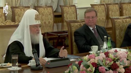 Глава РПЦ обвинил президента Украины в нарушении Конституции и поставил в пример европейские традиции