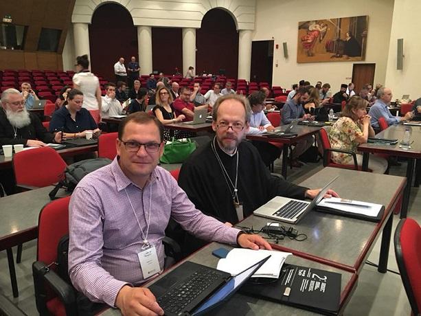 Ректор Відкритого православного університету в Києві став асоційованим членом Міжнародної асоціації цифрових медіа і пастирської опіки