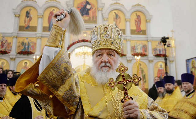 Патриарх Кирилл, заявил, что нельзя допустить независимой церкви в Украине, потому что ее хотят злые люди