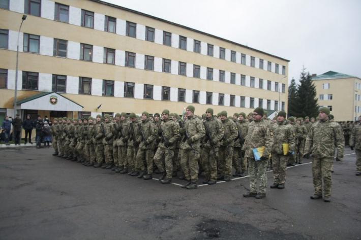 За участю капелана УГКЦ відбулося складання присяги у Національній академії сухопутних військ