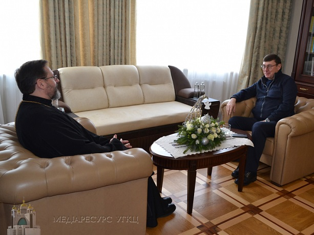 Глава УГКЦ поговорив з генпрокурором України про справедливість і верховенство права