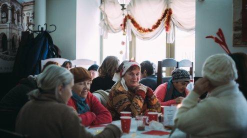 Спільнота святого Егідія роздала понад тисячу різдвяних обідів у Києві, Львові й Івано-Франківську
