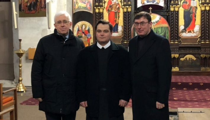 Генпрокурор України відвідав храм УГКЦ у Вільнюсі, побудований на честь перемоги над Московським військом