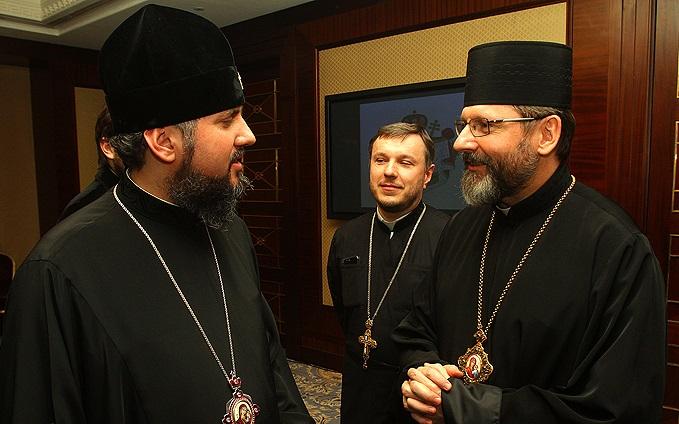 Предстоятелі УГКЦ та ПЦУ висловилися за поглиблення співпраці між Церквами