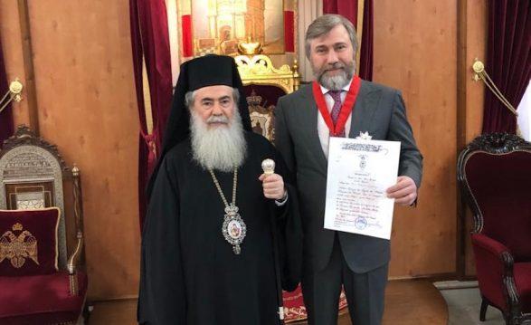 Иерусалимский патриарх нашел общий язык с президентом и оппозицией Украины