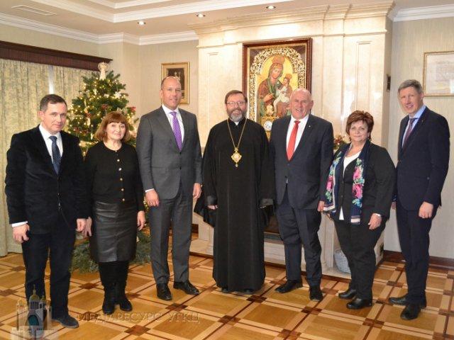 ПЦУ та УГКЦ співпрацюватимуть з новообраним керівництвом Світового конгресу українців