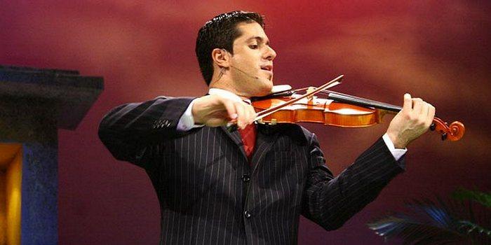В Харькове выступит известный скрипач-миссионер Джейми Джордж