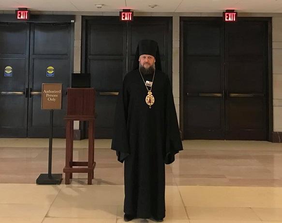 Епископа-наместника Десятинного монастыря УПЦ (МП) депортировали из Украины в США