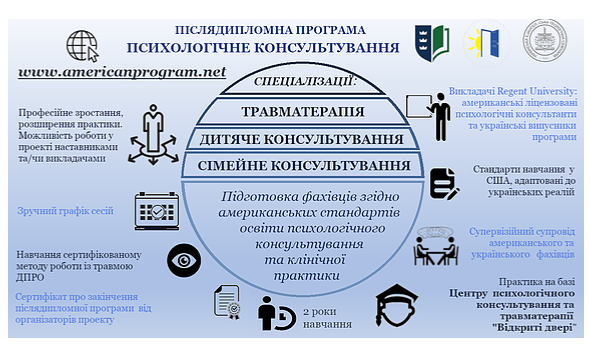Американцы проведут в Киеве бесплатное обучение по психологическому консультированию и травматерапии взрослых и детей