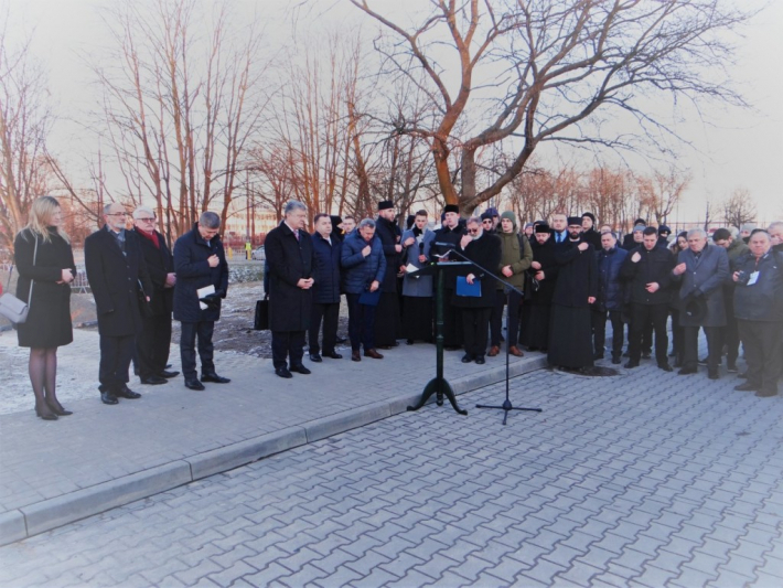 У Польщі за участю президента Україні освятили місце під пам'ятник греко-католицькому священномученику