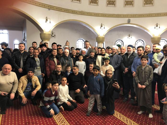 Мэр Киева Виталий Кличко посетил мечеть «Ар-Рахма»