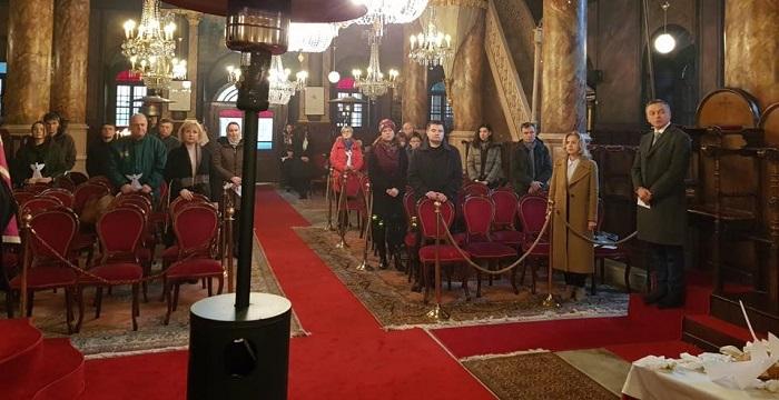 В Констатнинополі звершили літургію на увічнення пам'яті Небесної сотні