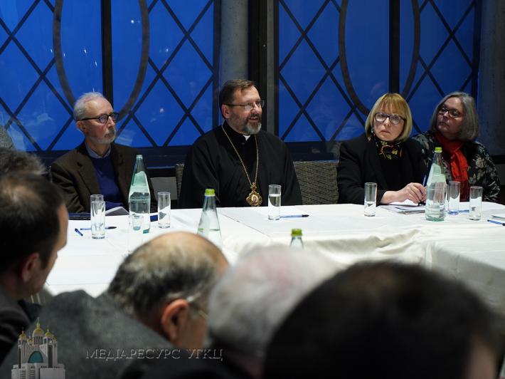 Глава УГКЦ розповів у Римі про реформи, війну, екуменізм в Україні