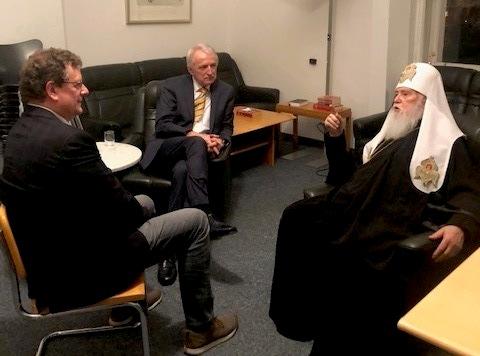 Митрополит ПЦУ розповів австрійцям про сучасний стан православ