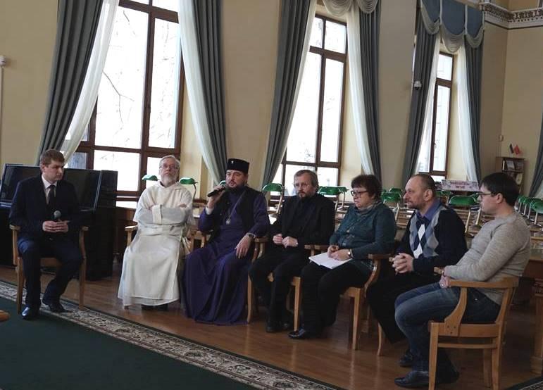 У Києві за участю духовенства презентували Несторівський центр