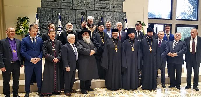 Всеукраїнська Рада Церков зустрілася з президентом Ізраїлю та урядовцями цієї країни