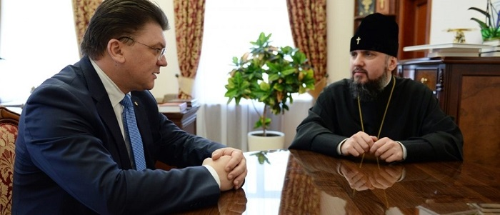 Митрополит Епіфаній і міністр молоді та спорту обговорили напрямки співпраці