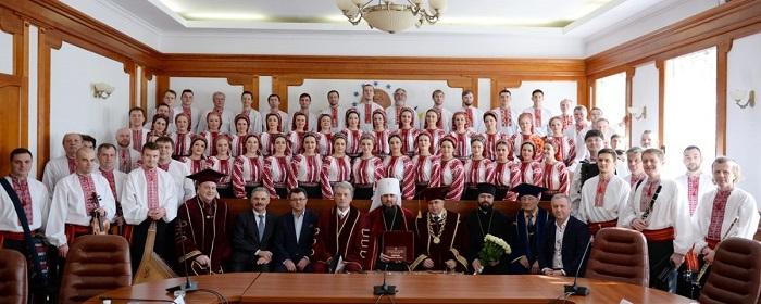 Митрополит Епіфаній став почесним доктором НПУ ім. М. Драгоманова