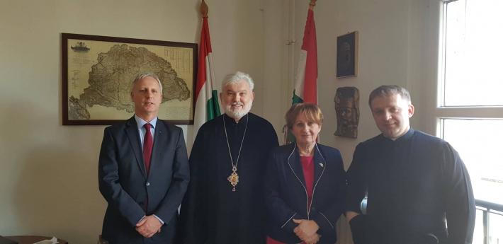 Єпископ УГКЦ і держсекретар міністерства людських ресурсів Угорщини обговорили питання духовної опіки українців