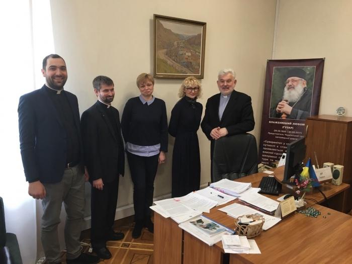 УГКЦ і Міністерство закордонних справ обговорили співпрацю на 2019 рік