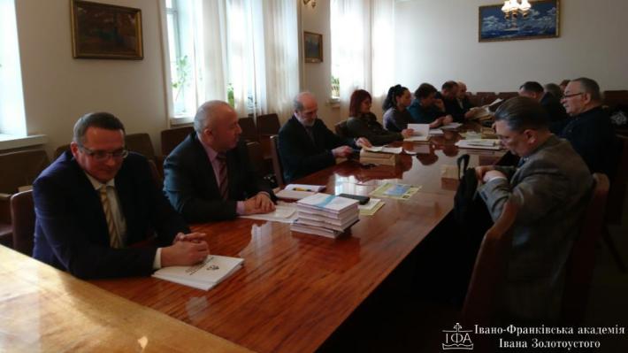 Підписана угода про співпрацю між академією УГКЦ, Інститутом філософії та Національним заповідником