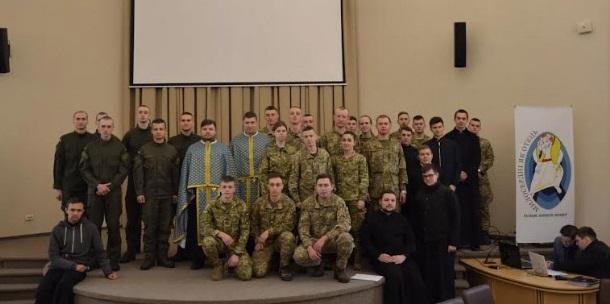 Військовослужбовці виграли у семінаристів УГКЦ змагання у грі «Що? Де? Коли»