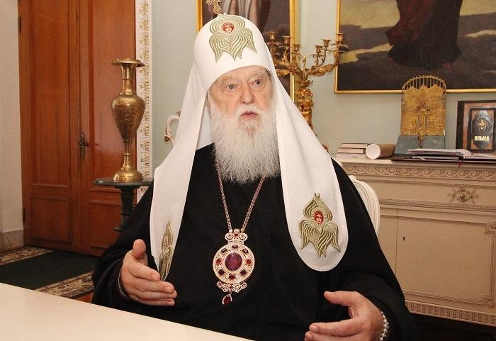 Філарет розповів про наміри ухвалити новий статут ПЦУ і розширити склад Синоду