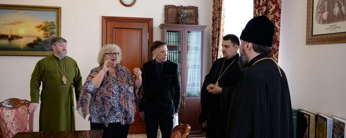 Глава ПЦУ обговорив напрямки співпраці з Українським товариством глухих