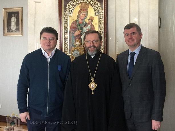 Глава УГКЦ обговорив з міністром молоді та спорту України потреби та виклики молоді
