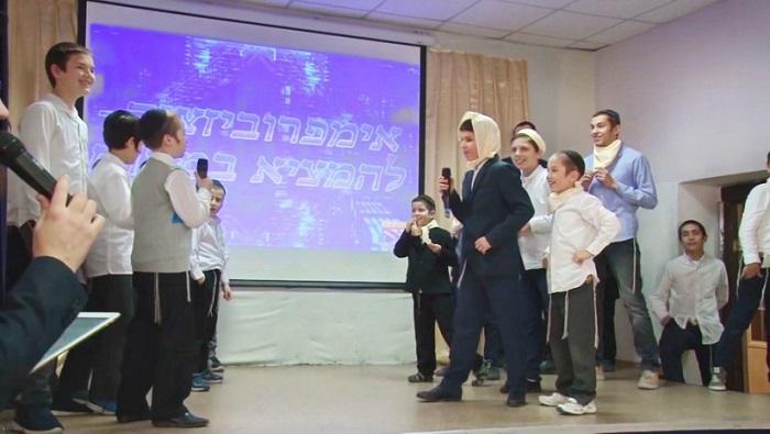 В иешиве Днепра продолжился Первый вседнепровский чемпионат по смеху