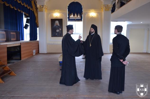 Архімандрит Константинопольського Патріархату відвідав Волинську академію ПЦУ