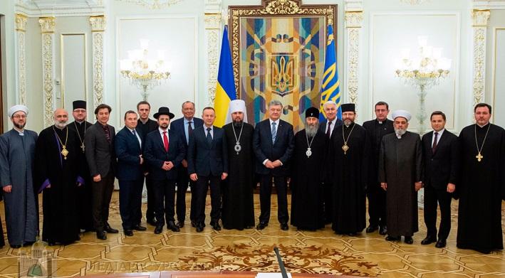 Священнослужителі на зустрічі з президентом України обговорили відносини церкви з державою