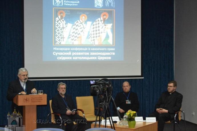 У Львові відбулася міжнародна конференція з законодавства Східних Католицьких Церков
