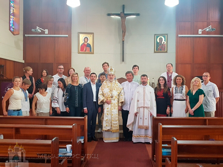 Єпископ УГКЦ відслужив першу літургію в Південно-Африканській Республіці