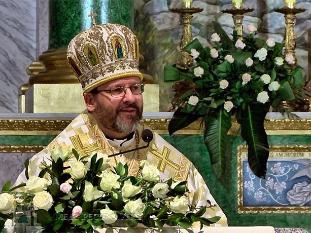 Президент та прем'єр-міністр України вітають главу УГКЦ з 10-тям єпископської хіротонії