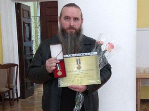 Чергового священика УПЦ (МП) нагороджено відзнакою президента України