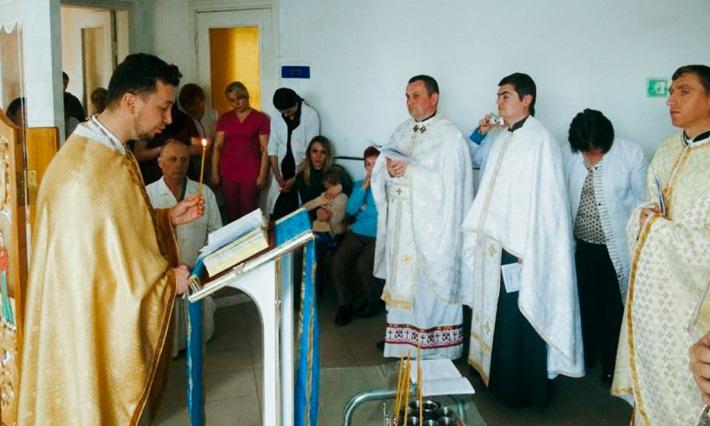 В Івано-Франківську священики УГКЦ звершили таїнство соборування над правоохоронцями