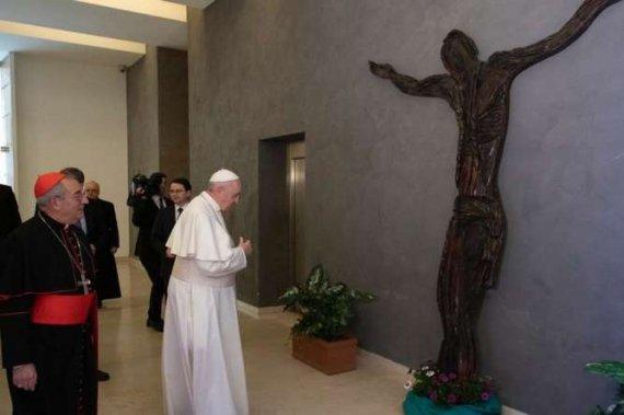 Українці подарували папі Римському дерев