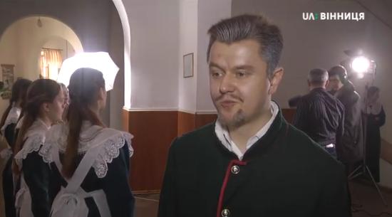 Священик УПЦ (МП) зіграв у фільмі Миколу Леонтовича