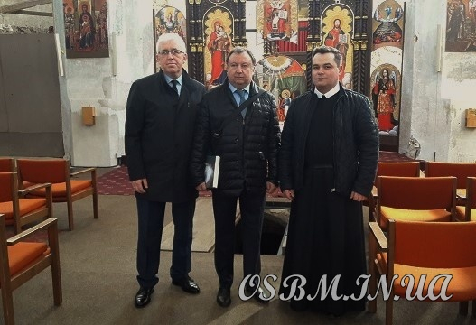 Голова Комітету ВР України з питань культури та духовності відвідав храм УГКЦ у Вільнюсі