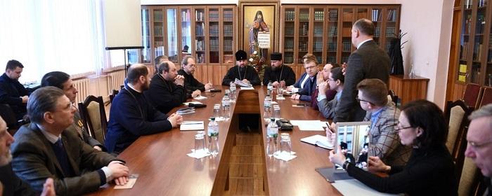 Митрополит Епіфаній провів другу зустріч з авторами «10 тез для Православної Церкви України»